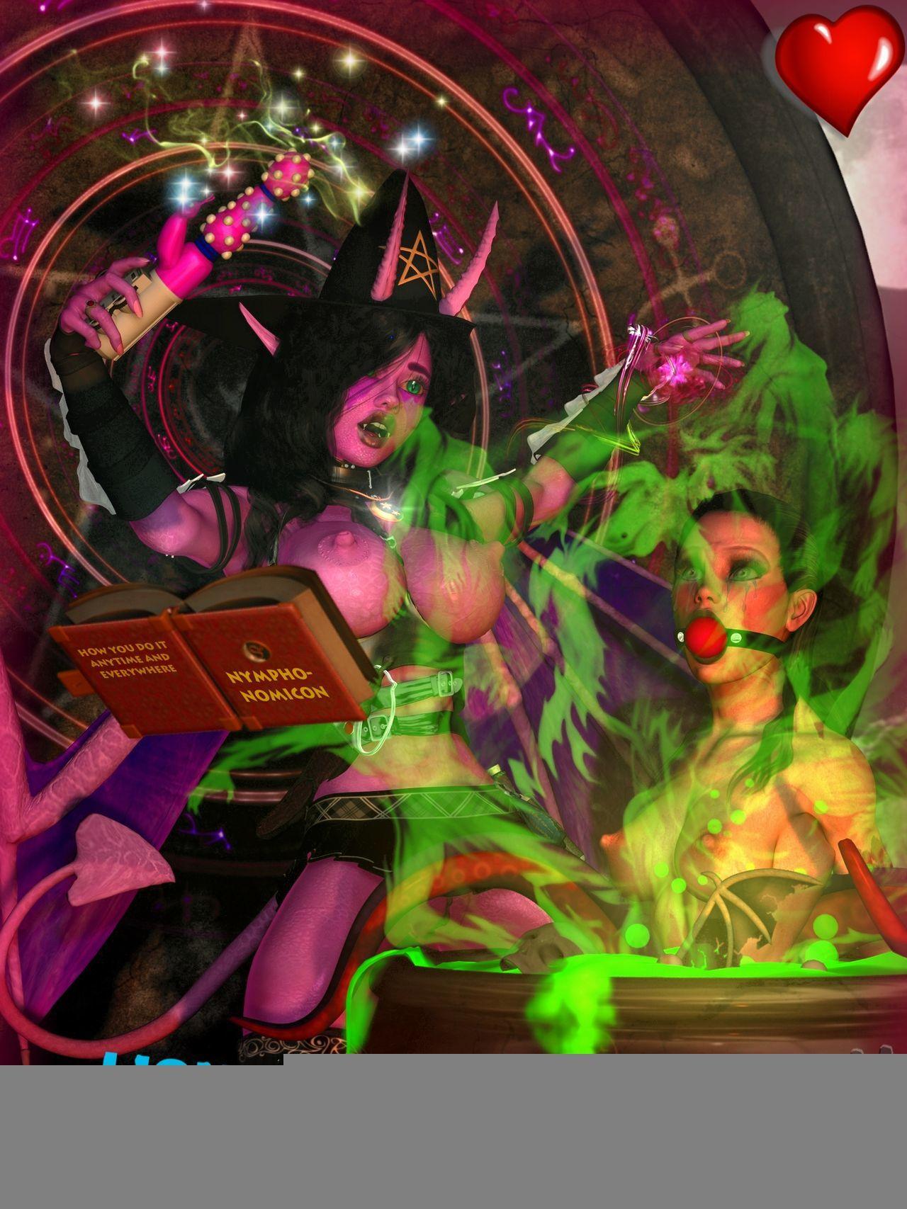 Demongirls & Scifi 3D portico - attaching 2