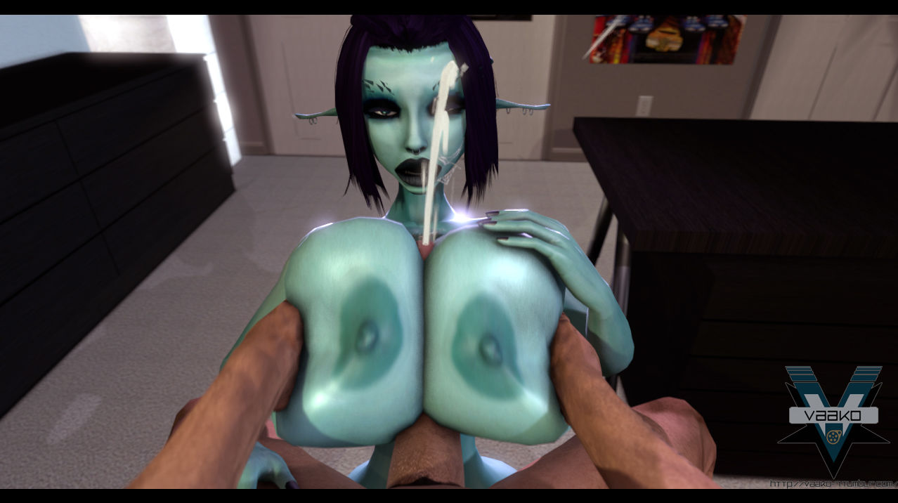 Soria - Fat Knocker 3D Pixie Sweeping Tittyfucking + Sexual relations Expectations on touching Tifa Lockhart 3D - fastening 3