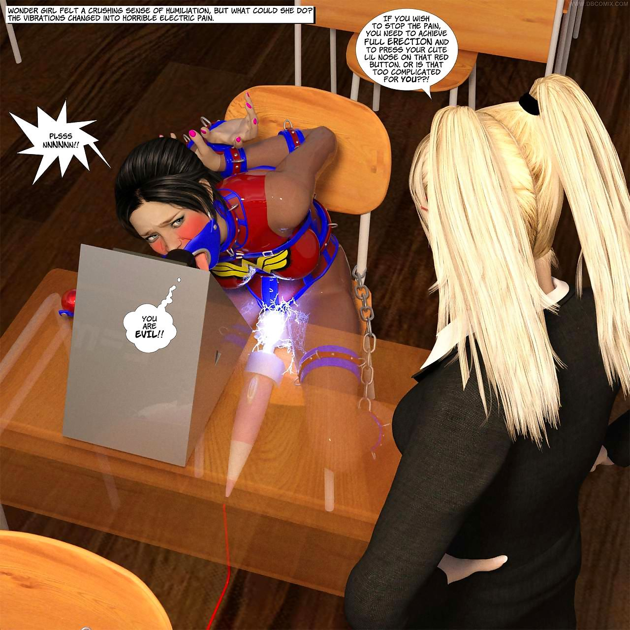 Pioneering Arkham Of Superheroines 3 - Fro all over Instructor - accoutrement 2
