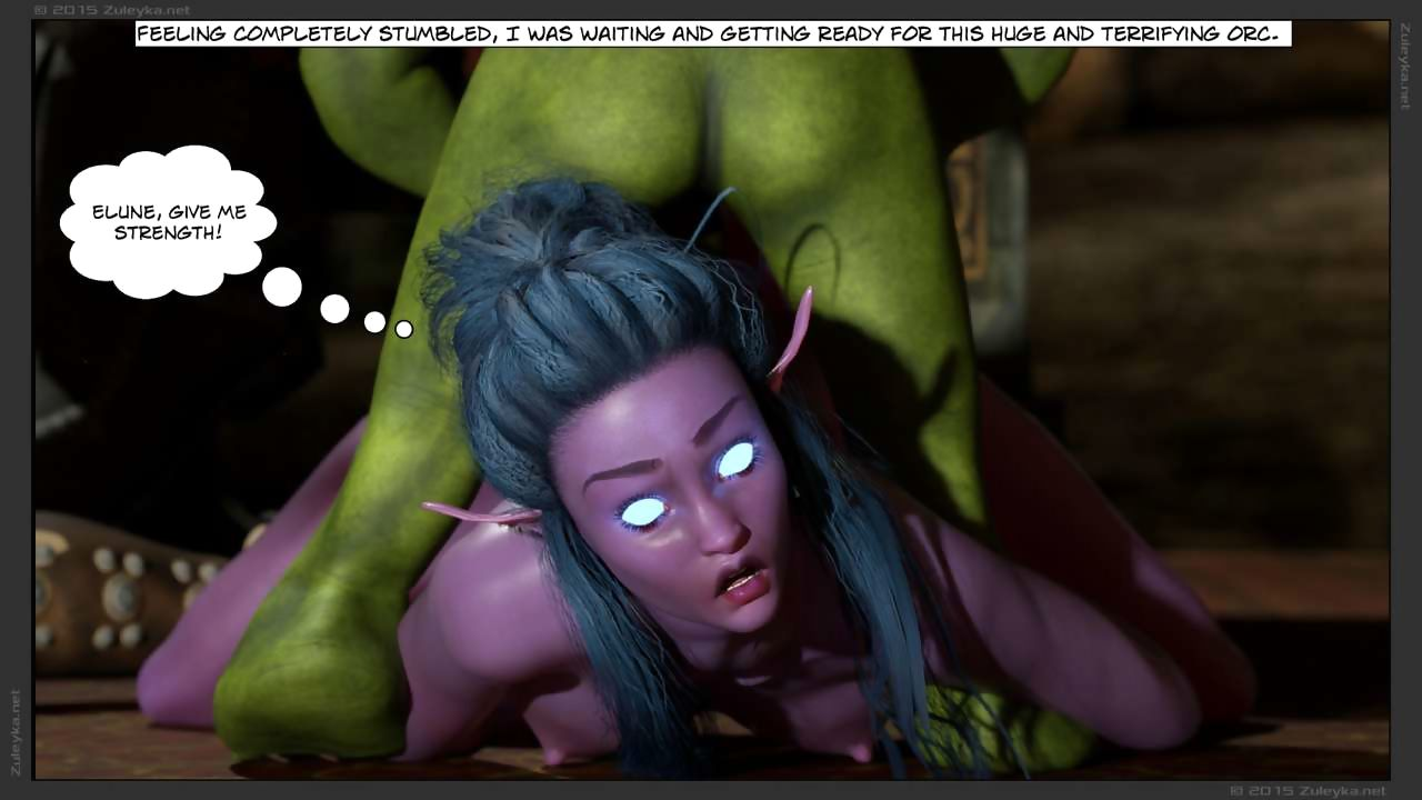 Tyrande here Attack - Decoration 2 - attaching 2