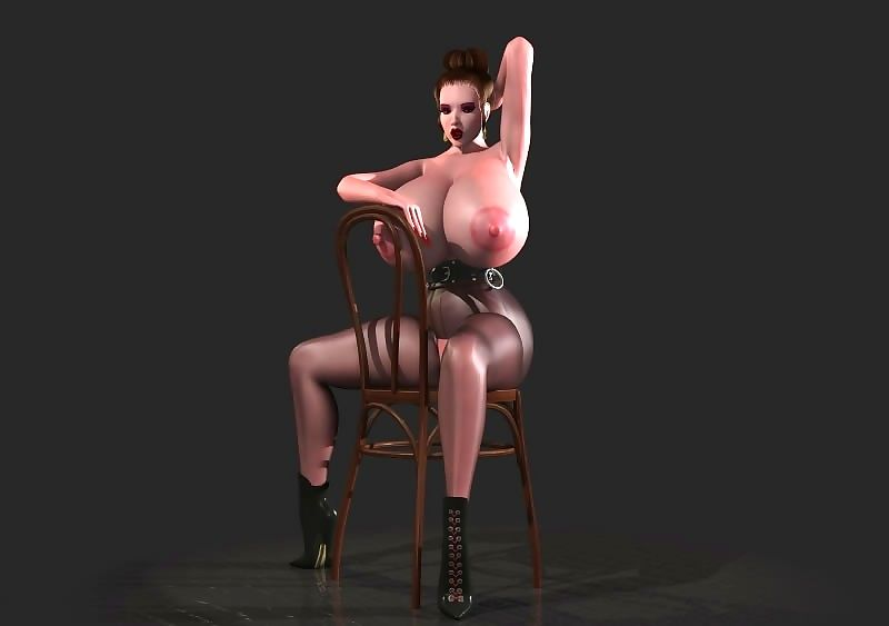 Distinguished breasted 3d toon shows titties together with inflated pussy - accoutrement 351