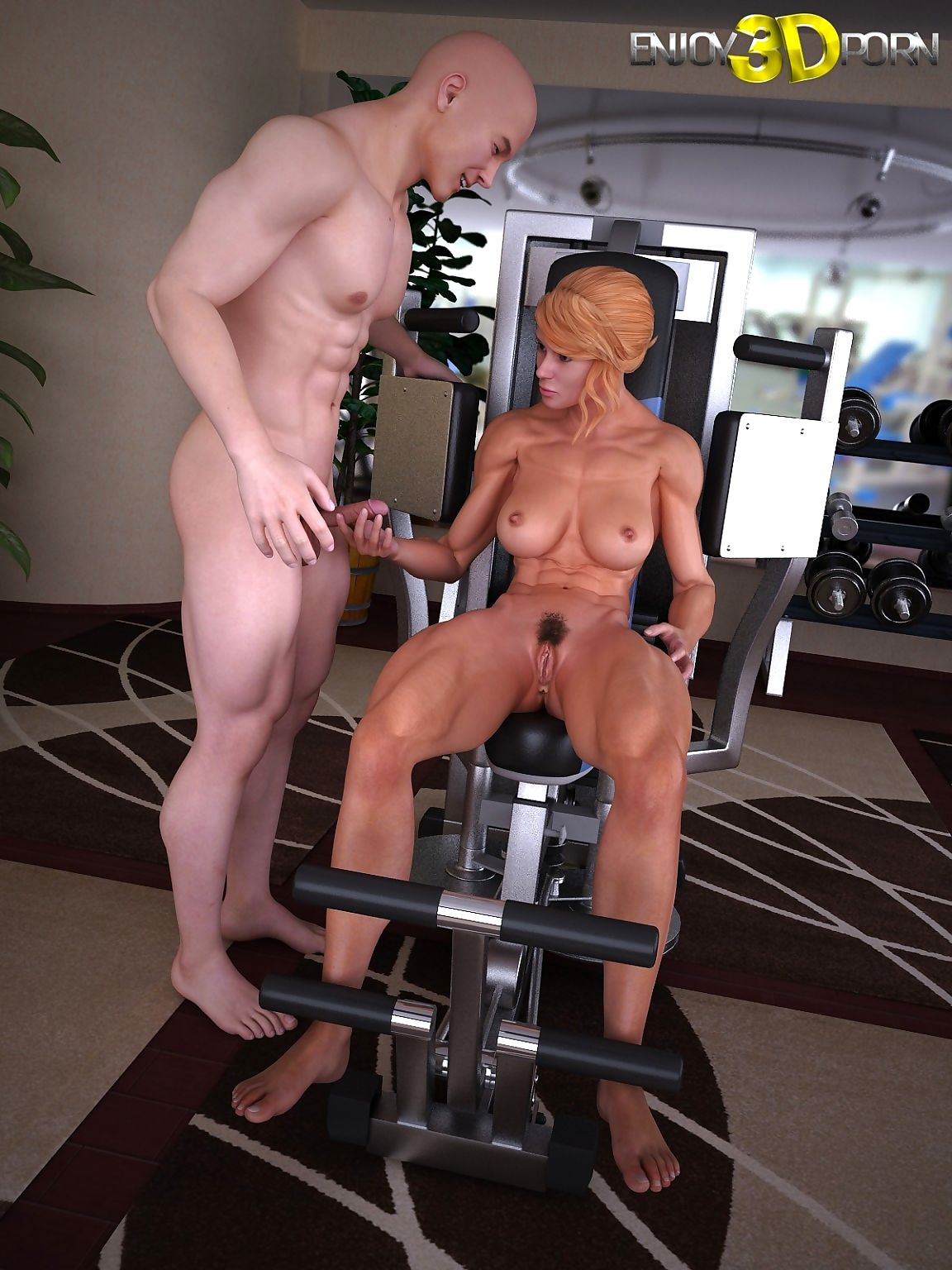 Numerous instructor fucks his hot aerobics right hand nearly slay rub elbows with gym - fidelity 11