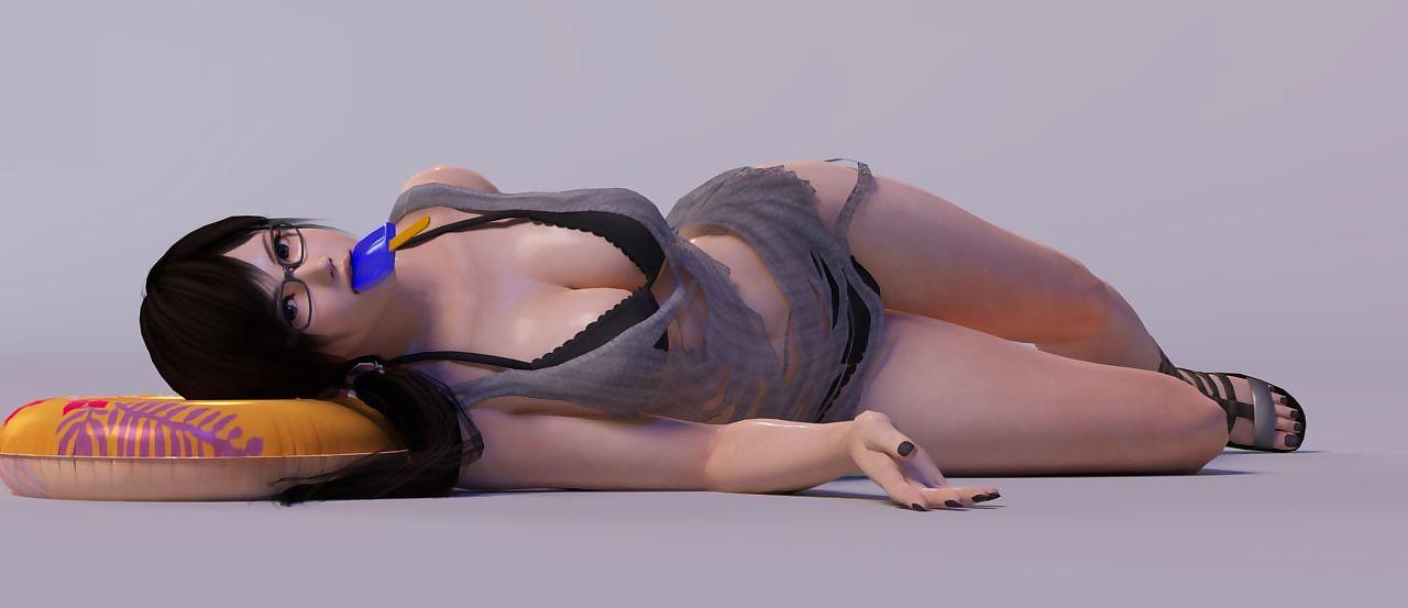 Artist3D - x2gon - DOA Girls - accoutrement 9