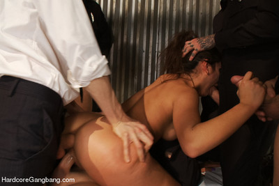 Jynx maze stars in what is possibly the approximately all epic gangbang porn of all time! in