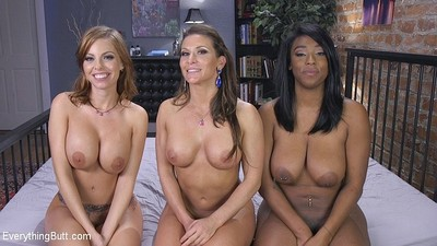 lisa tiffian and britney amber both receive there a-hole toyed and fis