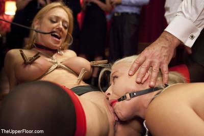Anal house slave teaches anikka albrite to service cock
