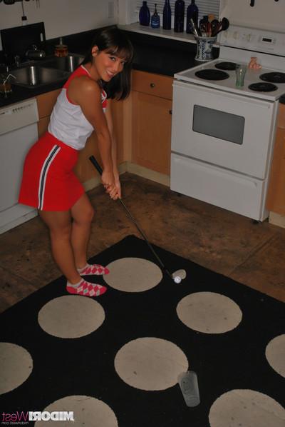 Midori west plays kitchen putt putt