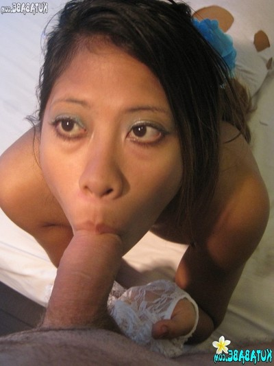 Eastern bali adolescent pretty gives bj