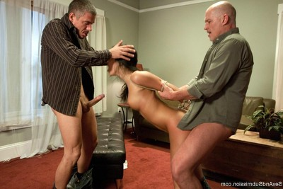 Wild gal purchases fixed firmly up, dominated and tough dug in servitude