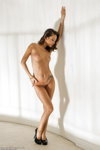 Insignificant oriental princess alina li getting without clothes