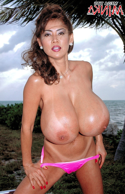 The enormous Japanese mounds by korean pornstar minka