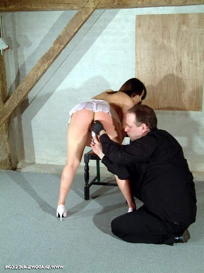 Japanese slavegirl koko lis painful unclothed arse whipping discipline and ordeal