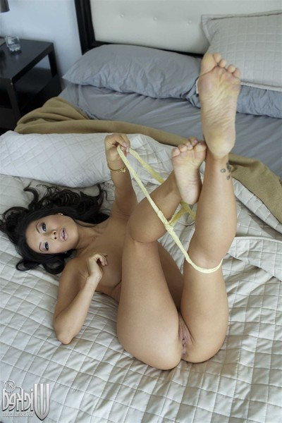 Asa akira purchases penetrated in ottoman in comfy gray underwear