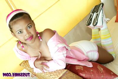 Thai young queen posing