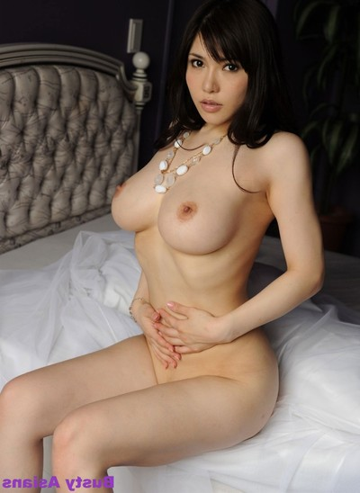 Anri okita posing her regular major scones in ebony underclothes