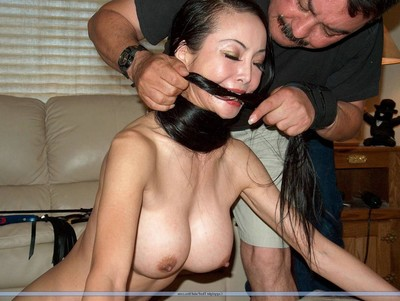 Chinese drubbing of ballgagged and whipped infatuation slavegirl ange venus. eastern s