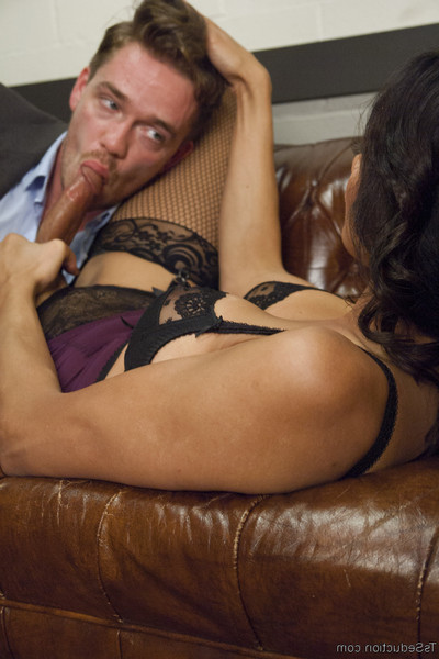 Chocolate hole office head lucas knight thinks his secretary got him a hooker...what this boy