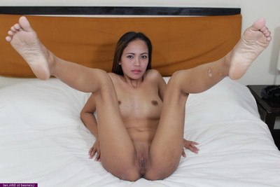 Regine rides a ramrod bareback finishing up in a many twat creampie