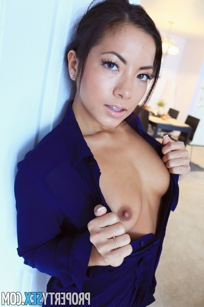 Sexual non-traditional gal bonked in pov