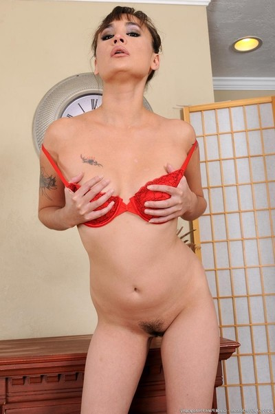 Excited decadent milf with a toned body
