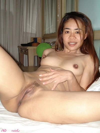 As was born swallowing knob and showing her cumcovered wet crack