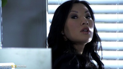 Eastern mistresse asa akira each has pleasure at her turn over place