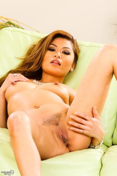 Pretty Japanese doll charmane star getting exposed