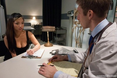 Bigtit Chinese babe obtains heavy act of love and servitude from medical research