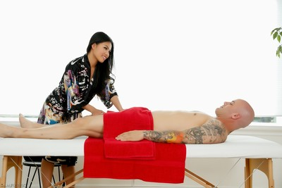 Cindy starfall and derrick break through get undressed mall Japanese massage