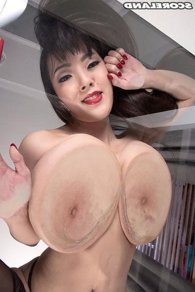 Master japanese pornstar hitomi tanaka in stocking