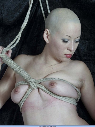 Suspension subjugation and breast fastened hanging of japanese infatuation illustration kumimonster