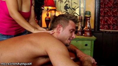 Infrequent masseuse jessica bangkok has intercourse her client