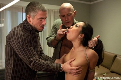 Hawt hotty receives attached up, dominated and intense screwed in subjection