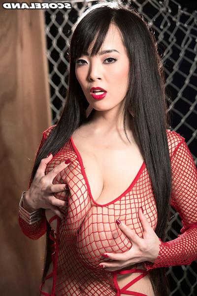 Major titty Chinese hitomi tanaka sucks gloryholes
