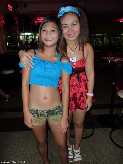 Drunk thai bargirls paid to fuck a swedish tourist real bangkok hookers