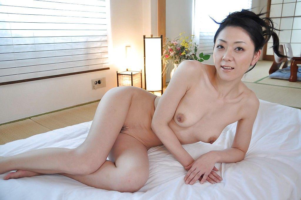 Unparalleled dark black Saeko Kojima is demonstrating her Chinese diminutive breasts