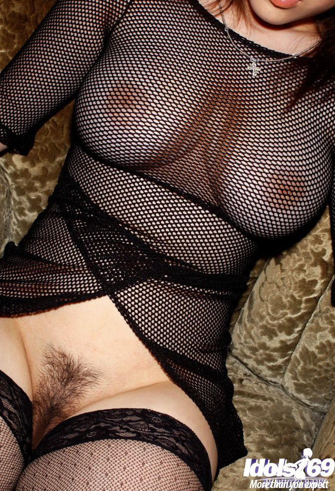 Bosomy eastern pretty with  wet crack posing in sheer outfit and