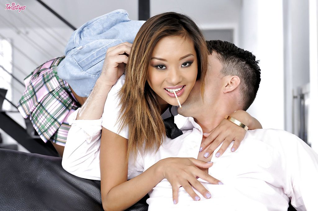 Alina Li is engaging part in a hardcore uterus banging scene with her man