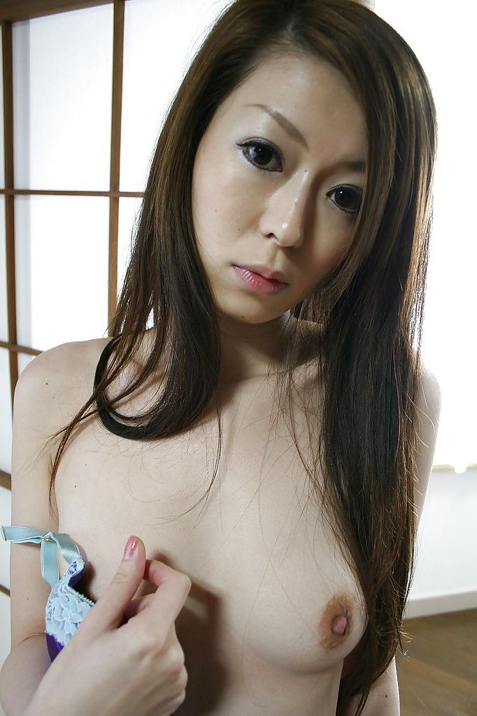Chinese valuable Mai Katagiri undressing and exposing her seductive bends over