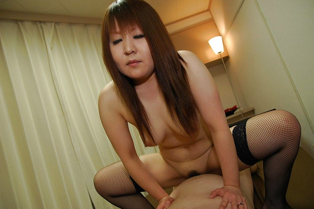 Unconventional asian MILF in  has some queening and bawdy cleft smokin