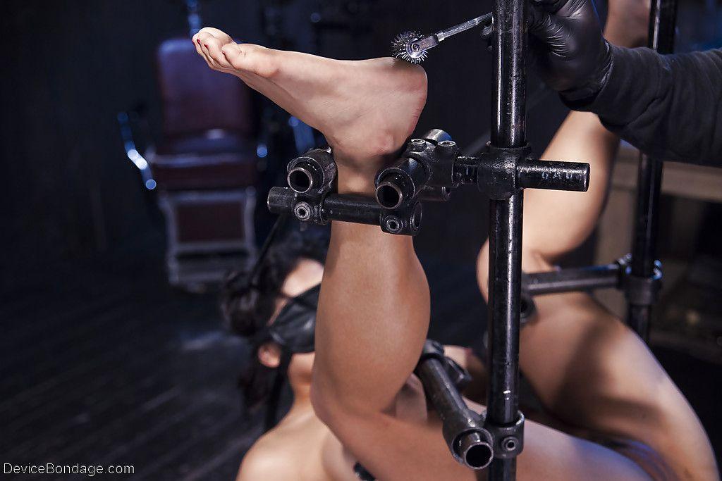 Chinese dear Mia Li attains masturbated against her will on subordination table