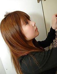 Shy nineteen Chinese hottie Mutsumi Kashiwagi uncovering her seductive changes direction
