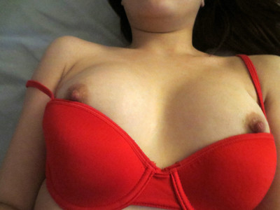 Marvelous dark brown sydney mai is red sticky in extreme brassiere and underclothing