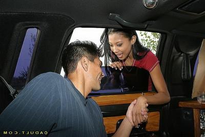 Oriental girl getting dicked