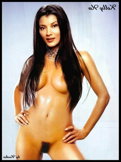 Kelly hu amplify on the daybed exposing her sodden titties and stunning snatch