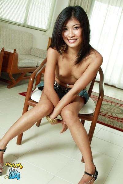 Moist thai pretty som fingers she