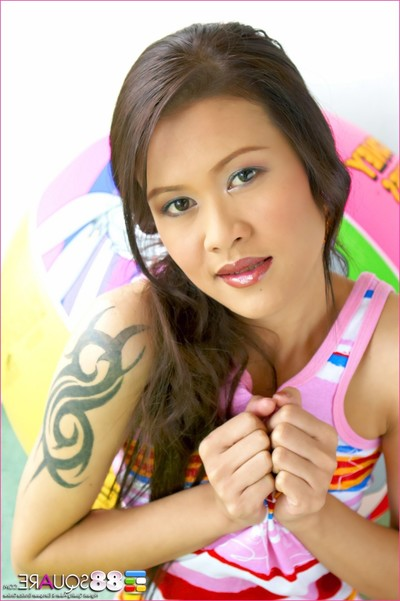 Patt pandava is a colorful striptease star