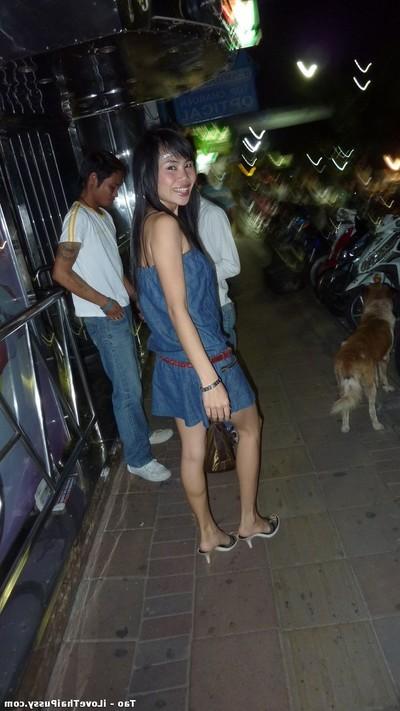 Drunk thai bargirls gazoo dug by a copulation tourist on vacation Chinese harlots
