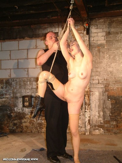 Asian boob point torments and raunchy play dungeon punishments of skinhead bondage slavegirl ku