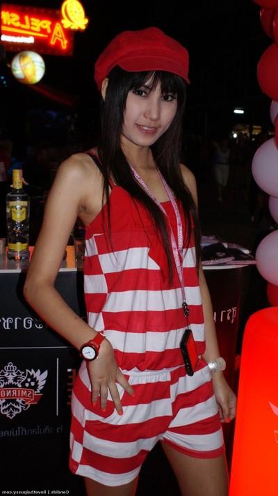 Mini thai milf bitch owned in her rigid oriental snatch puncture